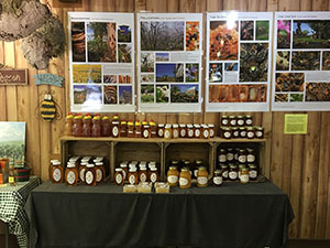 honey at whispering orchards country store