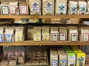 packaged foods at whispering orchards country store