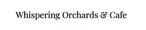 Whispering Orchards & Cafe Logo